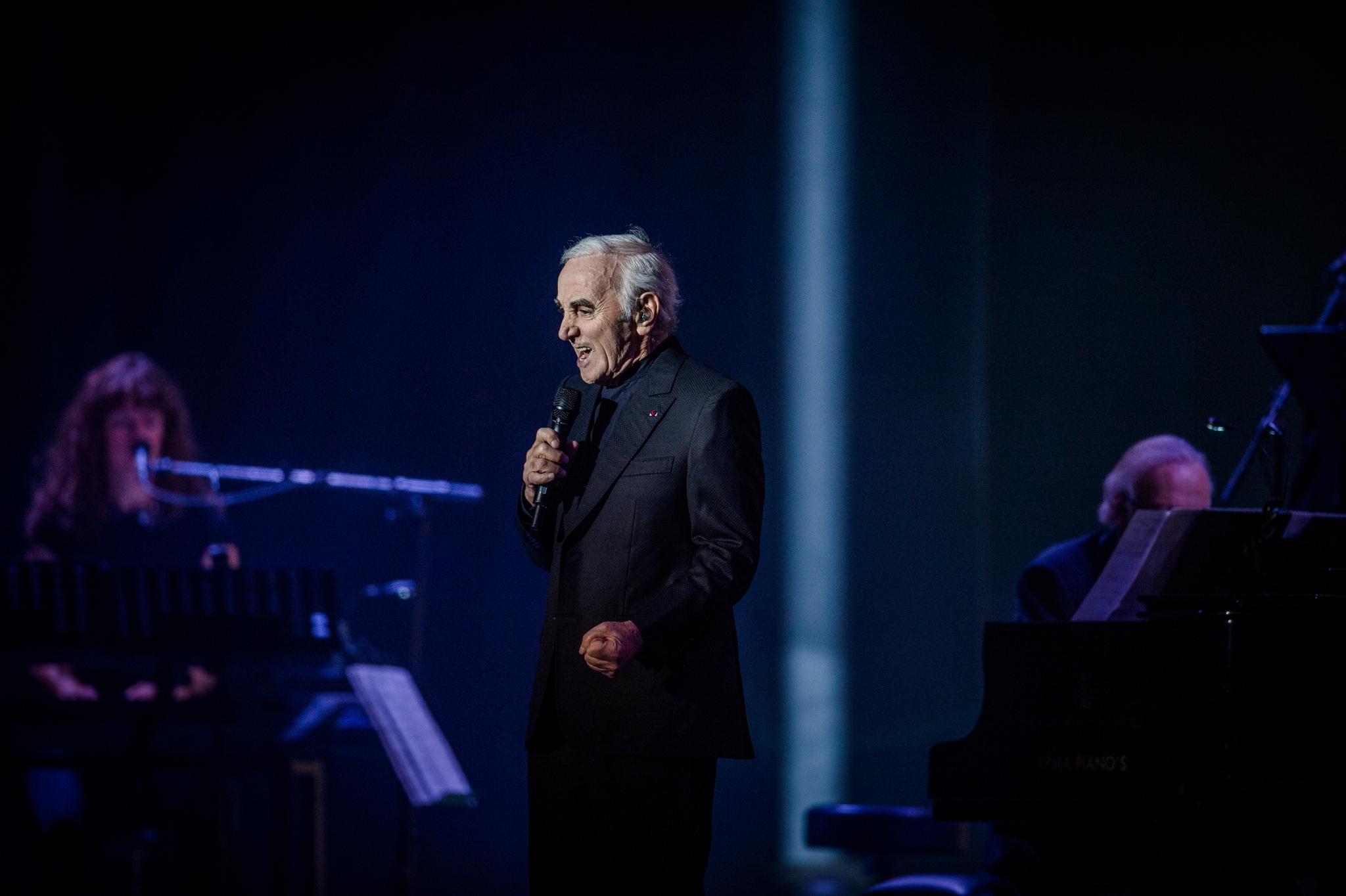 Laatste concert Charles Aznavour || AFAS Live