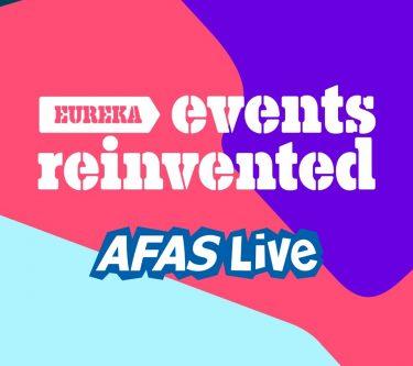 Eureka een multifunctionele set voor B2B events