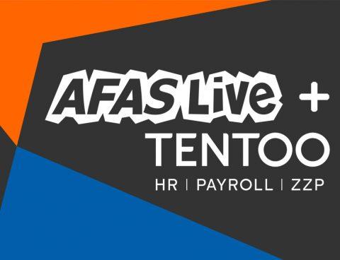 AFAS Live en Tentoo gaan samenwerking aan