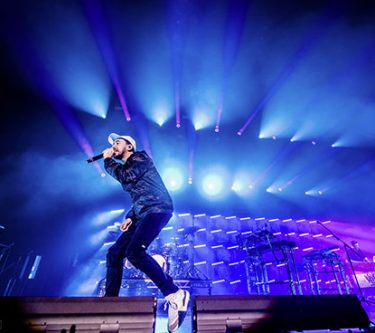 Mike Shinoda emotioneel en energiek in AFAS Live
