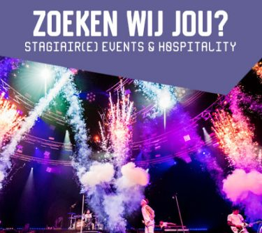 Vacature: Stagiair(e) Events & Hospitality